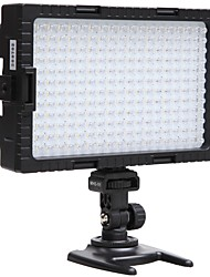 tanie -falcon eyes 216 dwukolorowa lampa ledowa wideo ściemniana do oświetlania fotografowania lub filmowania do aparatu canon nikon dv-216vc
