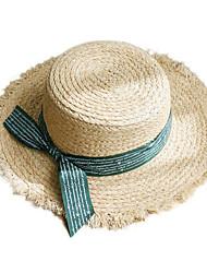 preiswerte -Korbwaren Kopfbedeckung mit Einfarbig 1 Stück Freizeitskleidung / Draussen Kopfschmuck