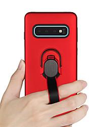 Недорогие -Кейс для Назначение SSamsung Galaxy S9 / S9 Plus / S8 Plus Защита от удара / Кольца-держатели Кейс на заднюю панель броня Твердый ТПУ / ПК
