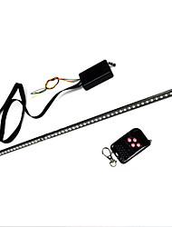 Недорогие -7 цвет 48 светодиодный водонепроницаемый пульт дистанционного вспышки автомобиля строб рыцарь райдер свет полосы комплект + пульт дистанционного управления