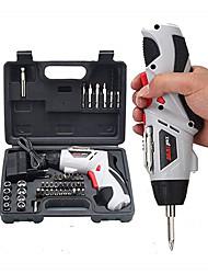 Недорогие -Многофункциональная аккумуляторная ручная дрель / электрическая отвертка 4.8 В