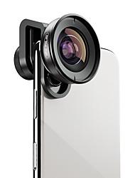 Недорогие -Объектив для мобильного телефона Широкоугольный объектив стекло / Алюминиевый сплав 1X 40 mm 0.15 m 110 ° Новый дизайн / Cool / Милый