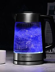 Недорогие -LITBest Электрические чайники MC-3051 Нержавеющая сталь Черный