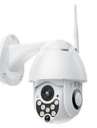 Недорогие -Sdeter 720p 1-мегапиксельная беспроводная PTZ IP-камера скорость купола камеры видеонаблюдения безопасности Открытый Onvif ИК ночного видения Обнаружение движения мобильный удаленный мониторинг P2P Pa