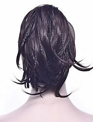 Недорогие -Клип во / на Накладки из натуральных волос Мягкость / Классический Натуральные волосы Волосы Наращивание волос Прямой 25 см Для праздника / вечеринки / фестиваль