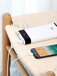 Недорогие -aigo 20000 mAh Назначение Внешняя батарея Power Bank 5 V Назначение 2.1 A / 1 A Назначение Зарядное устройство с кабелем LCD