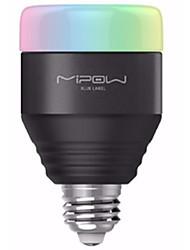 Недорогие -новинка bluetooth e27 светодиодная лампа rgb свет телефон с регулируемой яркостью лампы изменение цвета домашнего декора рождественские огни