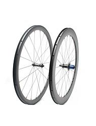 Недорогие -FARSPORTS 700CC Колесные пары Велоспорт 25 mm Шоссейный велосипед Углеродное волокно Подходит для клинчерной покрышки / бескамерной шины 20/24 Спицы 38 mm / 60 mm