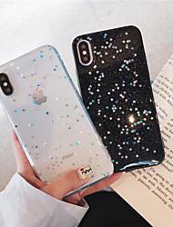 Недорогие -чехол для яблока iphone xr / iphone xs max блеск блеск / узор задняя крышка блеск блеск мягкий тпу для iphone х / хс / 6/6 плюс / 6s / 6s плюс / 7/7 плюс / 8/8 плюс
