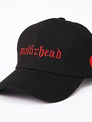رخيصةأون -كل الفصول أبيض أسود وردي بلاشيهغ قبعة البيسبول قبعة شمسية ألوان متناوبة للجنسين قطن بوليستر,أساسي