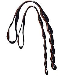 ราคาถูก -โยคะ ผ้า Resistance Bands 1 cm ขนาด ไนลอน Ultra Strong Antigravity ผักไปด้านหลัง การฝึก Pilates สำหรับ ทุกเพศ ห้องฟิตเนส