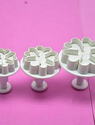 povoljno -3pcs Silikon Kreativna kuhinja gadget Nova kuhinjska oprema Alati za desert Bakeware alati