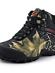 hesapli -Erkek Ayakkabı Kanvas Sonbahar Kış Sportif / Günlük Atletik Ayakkabılar Dağ Yürüyüşü Atletik / Dış mekan için Siyah / Sarı / Kamuflaj Rengi