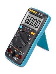 halpa -zoyi zt102 digitaalinen automaattinen kantamittari 6000 laskee taustavalon ac / dc-ampeerimittarin volttimittarin ohm kannettavan mittarin jännitemittarin