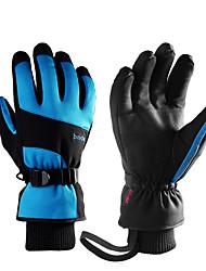 Недорогие -Лыжные перчатки Муж. Жен. Снежные виды спорта Полный палец Зима Силиконовые Снежные виды спорта Зимние виды спорта