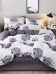 billige -Sengesett Kinesisk Stil Polyester Trykket 4 delerBedding Sets