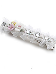 cheap -Alloy Hair Clip with Crystals / Rhinestones 2pcs Wedding Headpiece