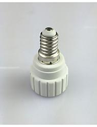 ieftine -1 buc E14 la GU10 E14 100-240 V Convertor Plastic Bec pentru becuri