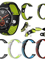 رخيصةأون -حزام إلى Huawei Watch Huawei بكلة كلاسيكية سيليكون شريط المعصم