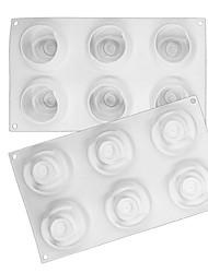 economico -3 pezzi Gel di silice Utensili innovativi da cucina Rettangolare Dessert Tools Strumenti Bakeware
