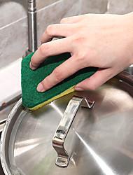 hesapli -Mutfak Temizlik malzemeleri Naylon mikrofiber Sünger polyester elyaf Sünger ve Ovma Pedi Yeni Dizayn Koruma Araçlar 8pcs