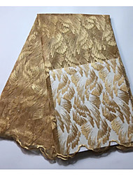 baratos -Rendas Cor Única Estampada 120 cm largura tecido para Casamento vendido pelo Jarda