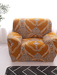 cheap -Sofa Cover Plants / Floral / Print Yarn Dyed / Printed Polyester Slipcovers
