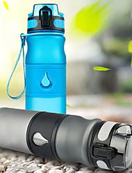 Недорогие -Бутылки для воды Бутылка для воды 600 ml PP Портативные для Велосипедный спорт / Велоспорт Походы / туризм / спелеология Путешествия Черный Зеленый Синий Розовый