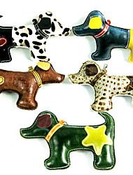 Χαμηλού Κόστους -Διαδραστικό Squeaking Toys Ζώα Με δύο πλευρές Πάρτι Άλλος τύπος δέρματος Για Σκυλιά Γάτες Μικρά τριχωτά κατοικίδια ζώα