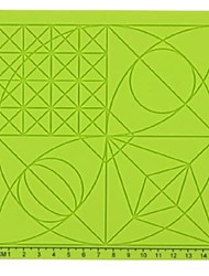 ieftine -4 tipuri de grafica 3D stilou de imprimare stilou silicon 3d pad de imprimare stilou de geometrie panou 3d desen accesorii stilou (4pcs)