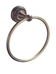 Χαμηλού Κόστους -πετσέτα δαχτυλίδι τοίχο τοποθετημένο στρογγυλά πετσέτα μπαρ σύνολα μπάνιο αξεσουάρ