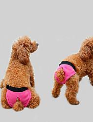 hesapli -Köpekler Pantolonlar Köpek Giyimi Solid Gri Fuşya Siyah Terylene Kostüm Uyumluluk Beagle Bulldog Shiba Inu İlkbahar, Sonbahar, Kış, Yaz Bayan Sweet Style Eşsiz Tasarım