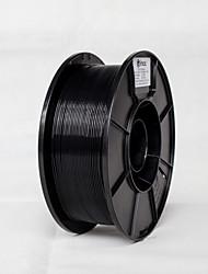voordelige -simax 3d afdrukmateriaal pla zwarte kleur 1,75 mm