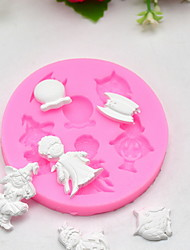 cheap -1pc Silicone Creative Kitchen Gadget Cooking Utensils Dessert Tools Bakeware tools