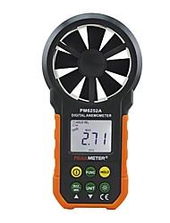 hesapli -Peakmetre pm6252a usb dijital anemometre sıcaklık nem rüzgar hızı hava hacmi ölçüm metre ile lcd aydınlatmalı