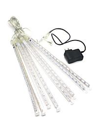 billiga -0,3 m Ljusslingor 124 lysdioder 2835 SMD 1 x 12V / 1A-adapter Varmvit / RGB / Vit Kreativ / Party / Dekorativ 220-240 V / 110-120 V 1set
