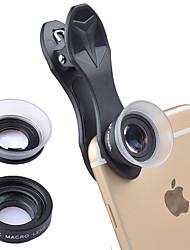 Недорогие -Объектив для мобильного телефона Макролинза стекло / ABS + PC 20X Макро 25 mm 15 m 80 ° Очаровательный / Веселая