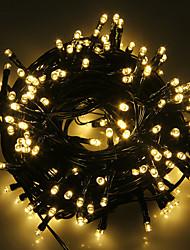 Недорогие -5 метров Гирлянды 20 светодиоды 1 монтажный кронштейн Тёплый белый / Холодный белый / RGB Водонепроницаемый / Работает от солнечной энергии / Для вечеринок Солнечная энергия 1 комплект