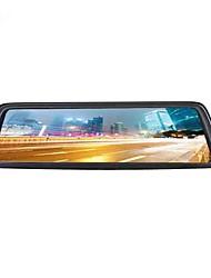 Недорогие -4g полноэкранный потоковый медиа автомобильный видеорегистратор 140 градусов широкоугольный 10-дюймовый ips-видеорегистратор с Wi-Fi / GPS / ночного видения