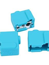 ieftine -3d imprimanta vulcan v2 încălzire bloc extruder silicon caz de izolare ciorap
