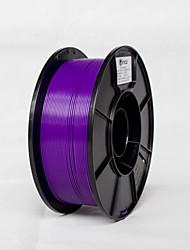 voordelige -paarse kleur simax 1,75 mm pla filament 1kg
