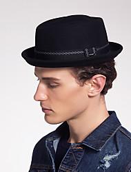 preiswerte -Wollfilz Hüte mit Streifen / Farbaufsatz 1 Stück Freizeitskleidung / Kentucky Derby Kopfschmuck