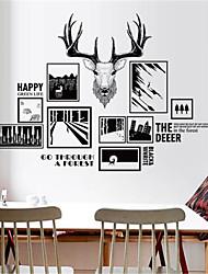 povoljno -nordijski moderni minimalistički spavaća soba kauč zid ukras foto okvir zid naljepnice osobnost apstraktna dnevna soba hodnik los naljepnice
