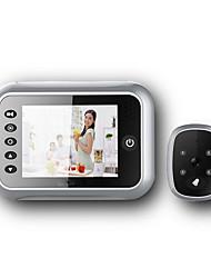 Недорогие -sf518 проводной&усилитель; беспроводной / WiFi сфотографировал 3,5-дюймовый портативный видеодомофон