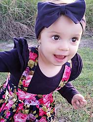 povoljno -Dijete Djevojčice Osnovni Print Print Dugih rukava Regularna Pamuk / Poliester Komplet odjeće Crn