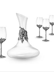 お買い得  -10個 ガラス ガラス製品 ワインクーラー&チラー 創造的なノベルティ ワイン アクセサリー のために Barware