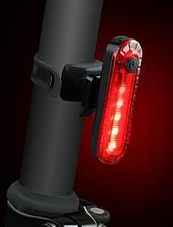 Недорогие -Светодиодная лампа Велосипедные фары Задняя подсветка на велосипед огни безопасности LED Горные велосипеды Велоспорт Водонепроницаемый Несколько режимов Портативные Литий-полимерная 15 lm