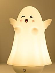 Χαμηλού Κόστους -1pc LED νύχτα φως / Νυχτικό φως νυχτών Θερμό Λευκό USB Για παιδιά / Δημιουργικό <=36 V