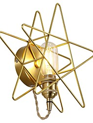 hesapli -led entegre modern / çağdaş modern / çağdaş boyama özelliği ampul içindamdambient ışık duvar sconceswall