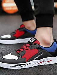 رخيصةأون -رجالي أحذية الراحة PU للربيع والصيف أحذية رياضية الركض أسود / رمادي / أصفر